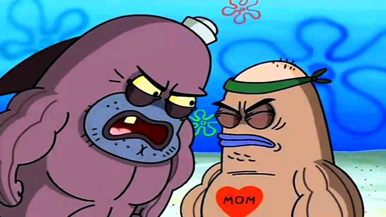 """10 Meme """"seberapa Tangguh Loe"""" Spongebob Squarepants"""
