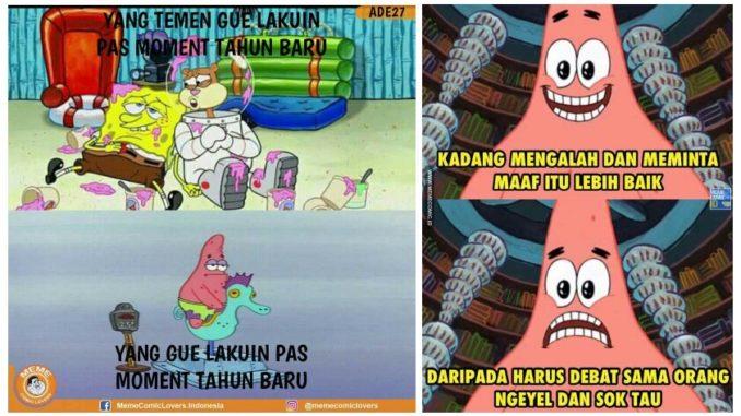 Kumpulan 10 Meme Spongebob Squarepants Ini Bakal Ceriakan Harimu
