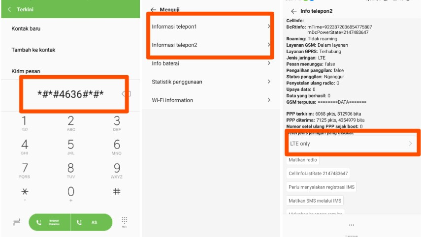Cara Mengubah Jaringan Menjadi 4g Only Di Xiaomi Redmi Dan Mi Lifeloenet